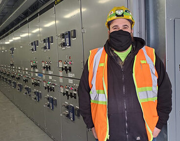 Dickey Electric safely works through pandemic to bring TJX Distribution Center to life